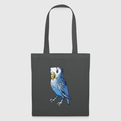 Parrot oiseau cage finch canari - Tote Bag
