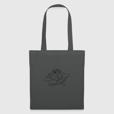 Illustration Rose - Tote Bag