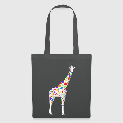 girafe coloré - Tote Bag