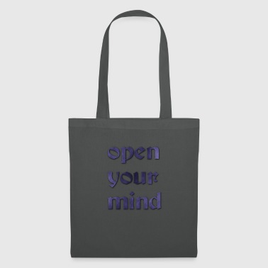 open_your_mind-PNG - Borsa di stoffa