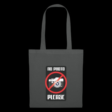 Camera Prohibition Sayings Photo Cell Phone Party Sign - Tote Bag