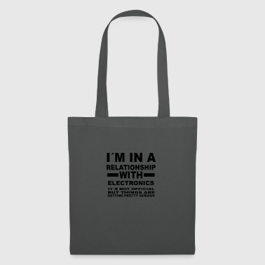 Relationship with ELECTRONICS - Tote Bag