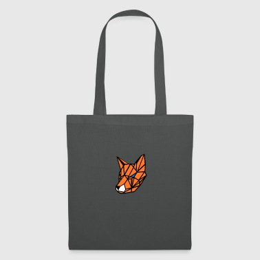 geometric fox - Tote Bag