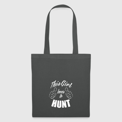 this girl loves to hunt - Tote Bag