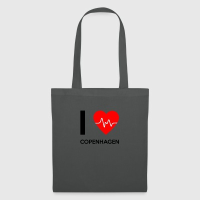 J'aime Copenhague - I love Copenhague - Tote Bag
