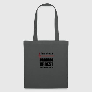 Cardiac Arrest Survivor - Tote Bag