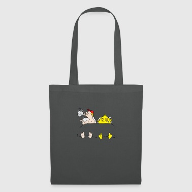 Lemon in bed - Tote Bag