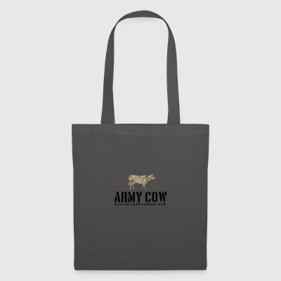 Army cow - Tote Bag