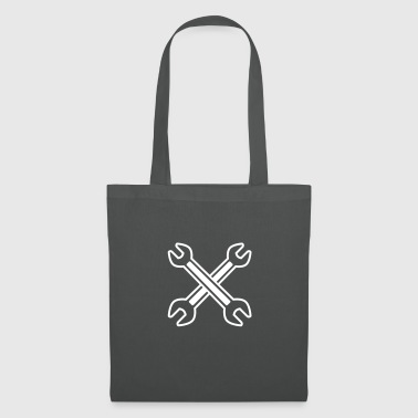 Crossed Wrench - Tote Bag