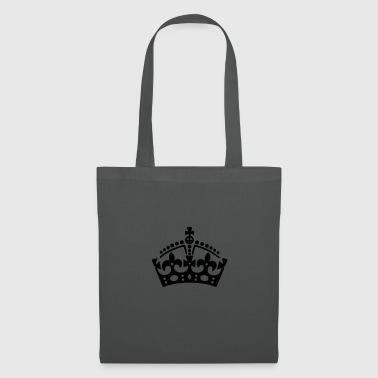Keep Calm crown / crown - Tote Bag