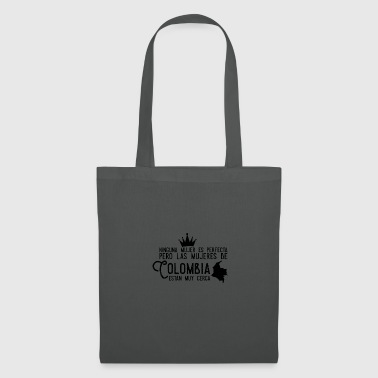 Colombia, Colombian woman design - Tote Bag