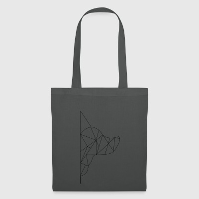 Triangle-Dog - Tote Bag