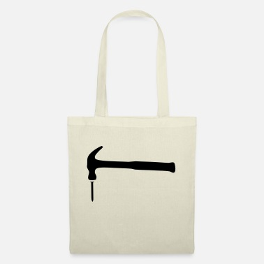 Ingne hammer_and_nail_2 - Tote Bag