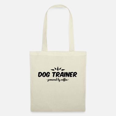 Trener Psów dog trainer powered by coffee - Tote Bag