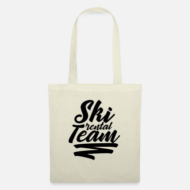 Winter Sport Ski rental - Tote Bag