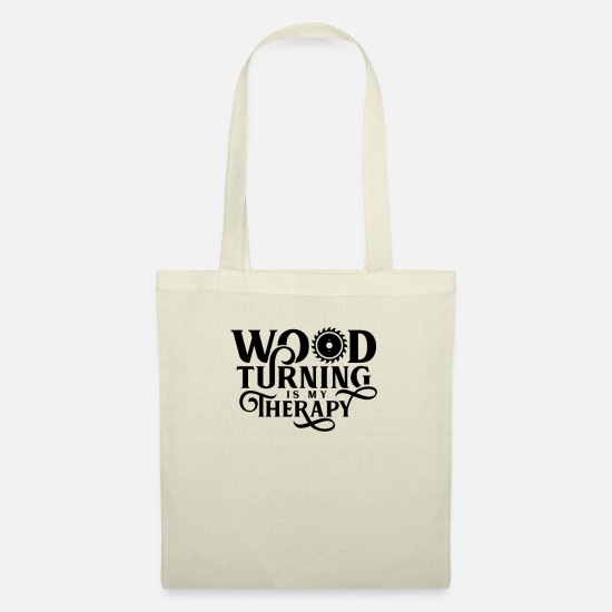 Gift Idea Bags & Backpacks - wood turning - Tote Bag nature