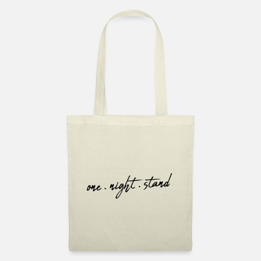 One Night Stand One Night Stand handwriting saying - Tote Bag