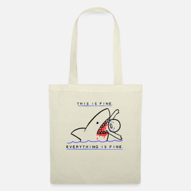 Fine This Is Fine - Tote Bag