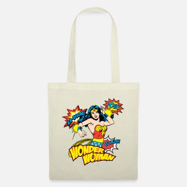 Officialbrands DC Comics Wonder Woman Rétro Onomatopées - Sac en tissu