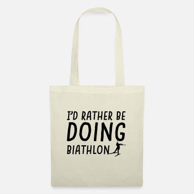 Rather rather be biathlon - Tote Bag