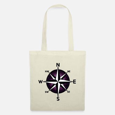 Nautical Ahoy Nautical Compass Windrose Nautical - Tote Bag