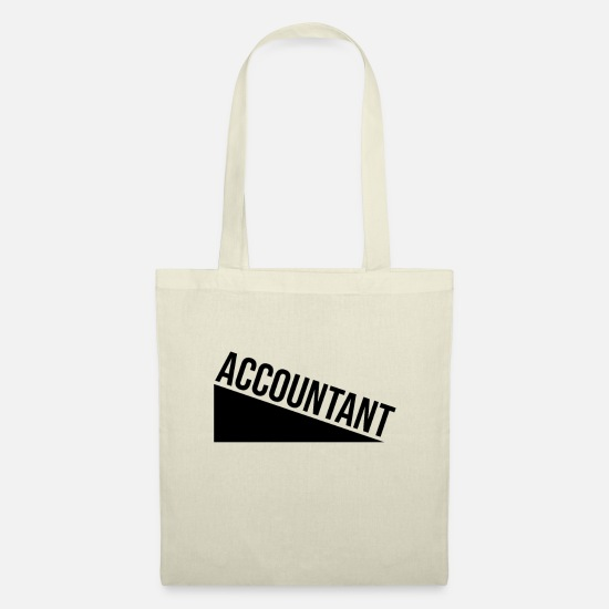 Gift Idea Bags & Backpacks - Accountant - Tote Bag nature