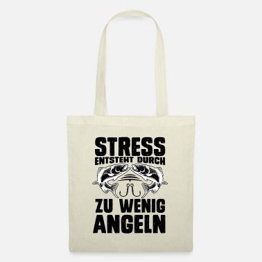 Angels Stress is caused by too little fishing spell - Tote Bag