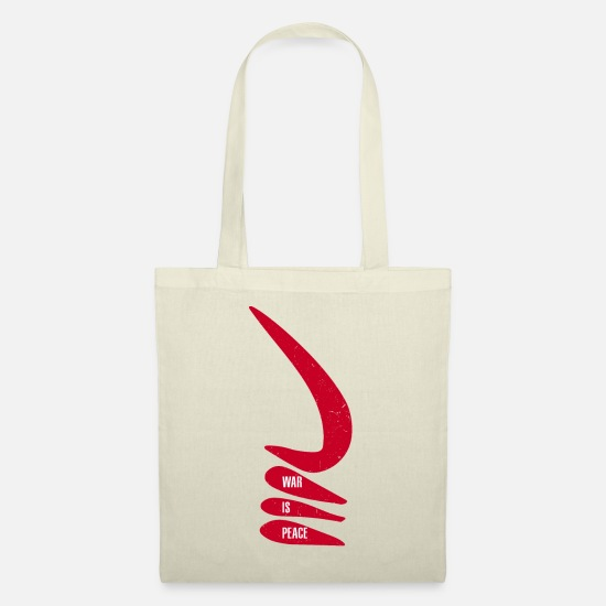 Education Bags & Backpacks - War is peace | AKOBEN | African War Horn in - Tote Bag nature