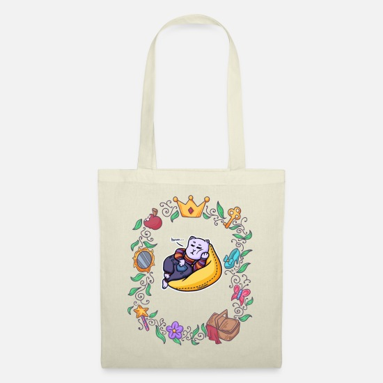Sleep Bags & Backpacks - lazy cat chill fairy tale - Tote Bag nature