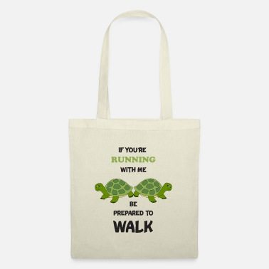 Sporty Running Funny Run Turtle Marathon Runner Gift - Tote Bag