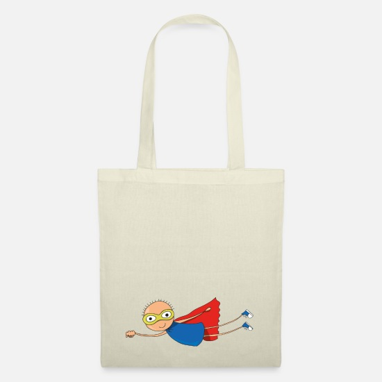 Superhero Bags & Backpacks - SUPERHERO - Tote Bag nature