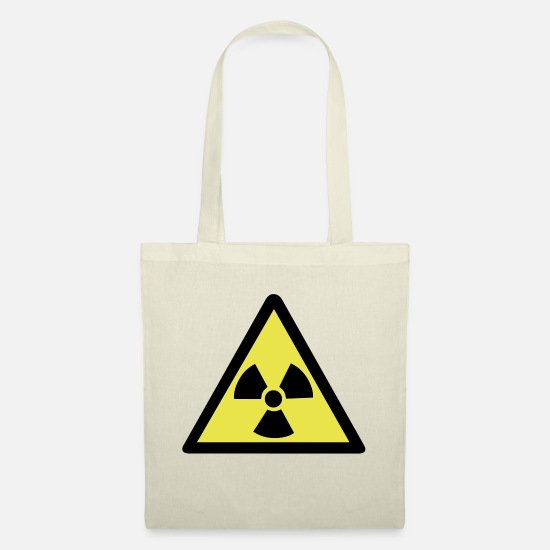 Warning Bags & Backpacks - Radioactive Warning Symbol - Tote Bag nature