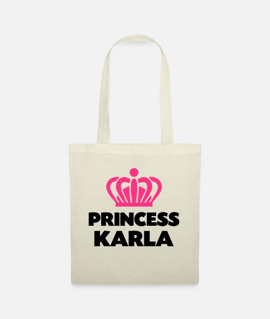 Crown Bags & Backpacks - Princess karla name thing crown - Tote Bag nature