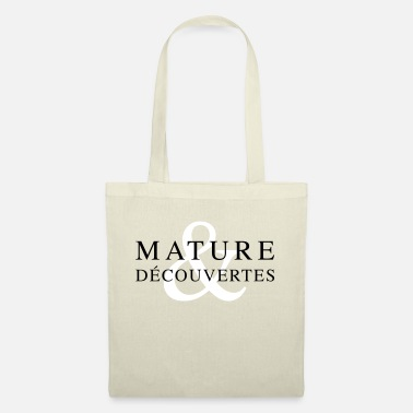 Mature mature and discovery - Tote Bag
