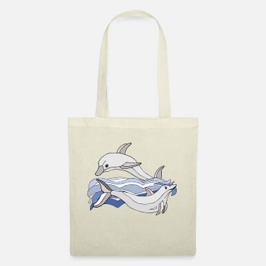 Dolphin Dolphins - Tote Bag