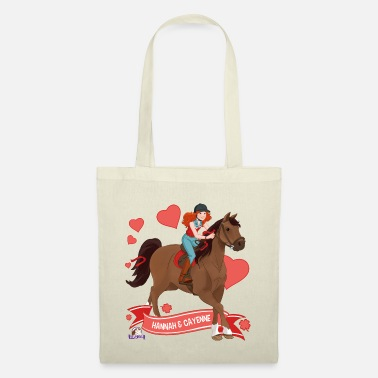 Schleich Schleich Horse Club Hannah & Cayenne ride out - Tote Bag