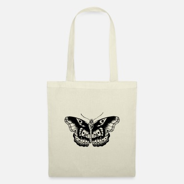 Butterfly H Styles Butterfly Tattoo (black) - Tote Bag