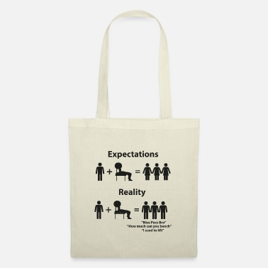 Strong Bodybuilding Fitness Workout Gym Bodybuilder Funny - Tote Bag