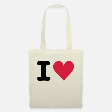 I Heart I - HEART - Tote Bag