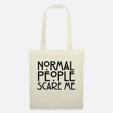 Story Normal People Scare Me - Tote Bag