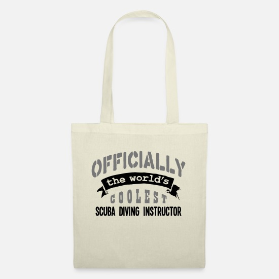 Water Bags & Backpacks - scuba diving instructor officially the w - Tote Bag nature