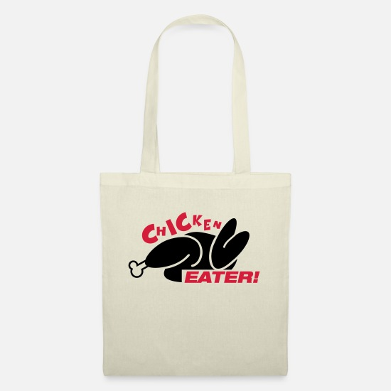 Hungry Bags & Backpacks - chicken_eater_gi2 - Tote Bag nature