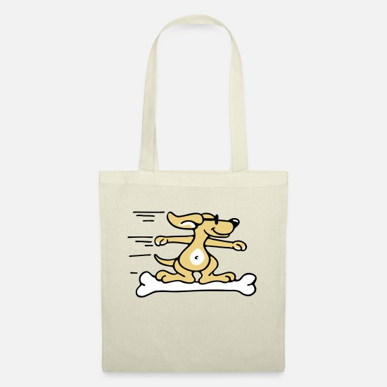 Miscellaneous Bags & Backpacks - Doggie Surfer - Tote Bag nature