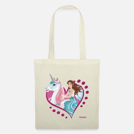 Unicorn Bags & Backpacks - Schleich bayala Eyela rides unicorn - Tote Bag nature