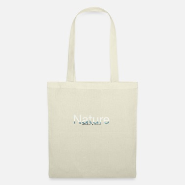 NATURE IS NOT PERFECT, BUT HONESTLY - Tote Bag