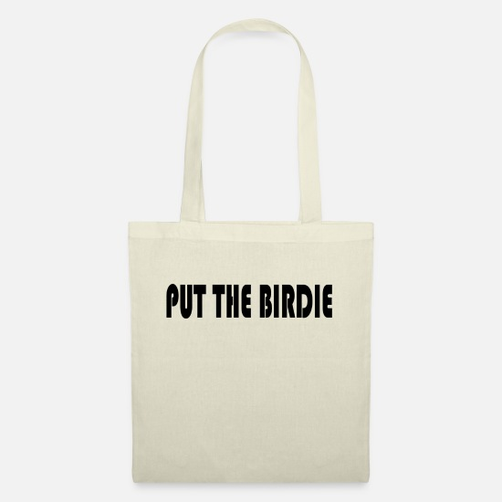 Birdie Bags & Backpacks - PUT THE BIRDIE - Tote Bag nature