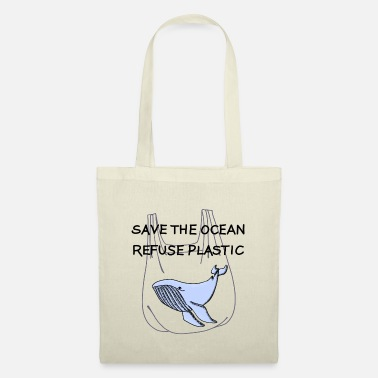 Earth Day Save the Ocean Statement - Tote Bag