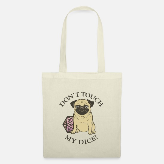 Touch Bags & Backpacks - Don't Touch My Dice! - Tote Bag nature
