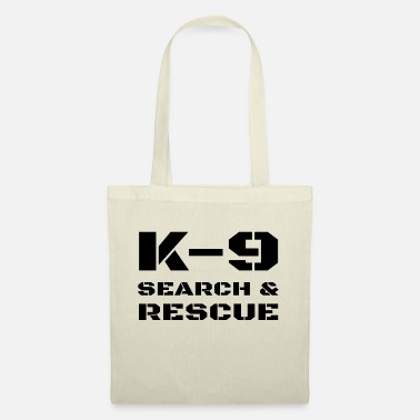 Tactics K-9 Search And Rescue Dog Handler Trainer SAR K9 - Tote Bag