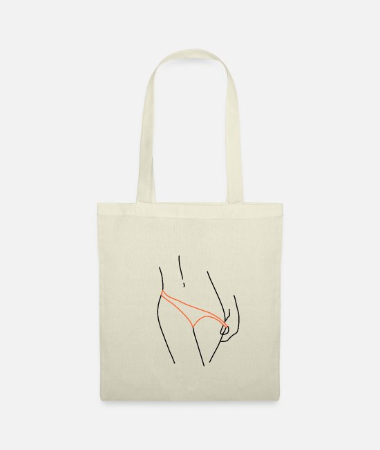 Statue Bags & Backpacks - Slip Take Off Design Retro Illustration Drawing - Tote Bag nature